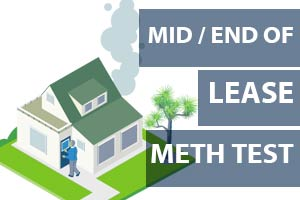 End Of Lease Meth Testing Rental house