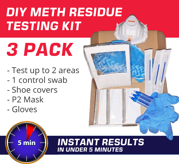 3 Pack DIY Meth Testing Kit