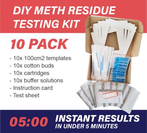 10 Pack DIY Meth Testing Kit