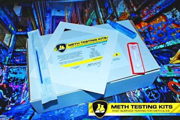 10 x DIY home meth residue tests