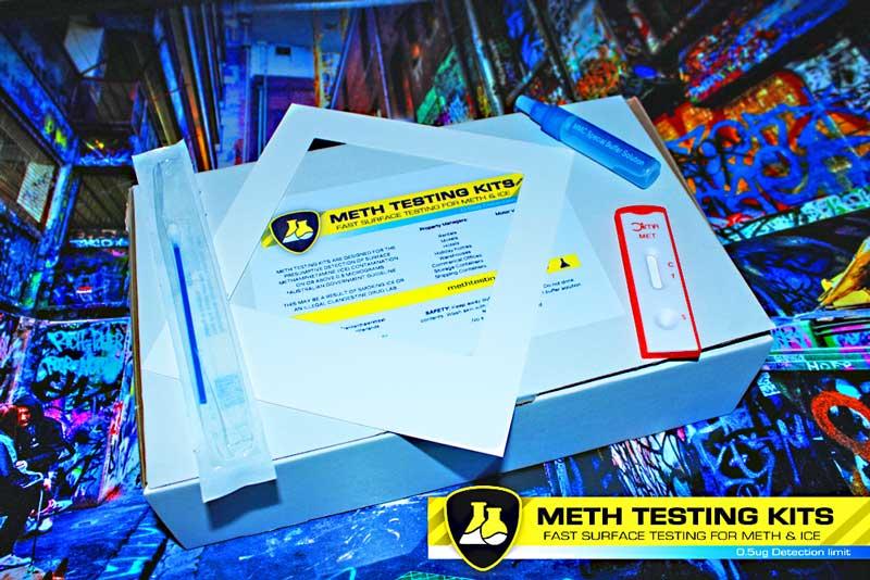10 x DIY Home Meth Residue Testing Kits