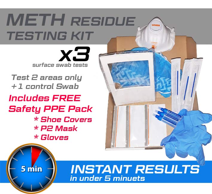 Meth Residue Test kit x 3