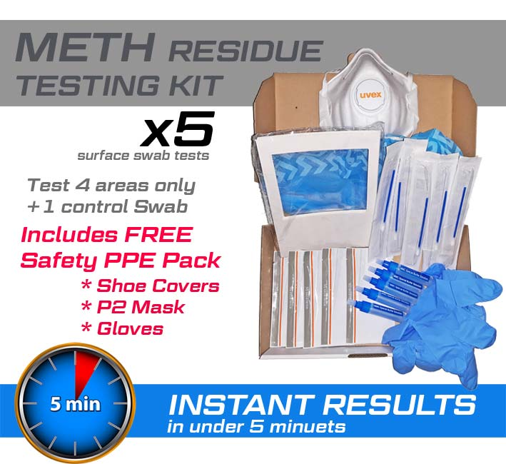 Meth Residue Test kit x 5