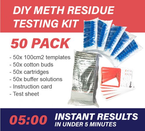 50 Pack DIY Meth Testing Kit