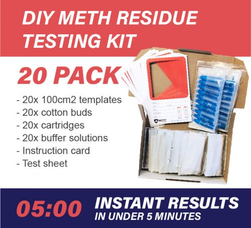 20 Pack DIY Meth Testing Kit
