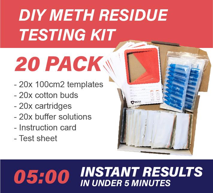 20 Pack DIY Meth Testing Kit